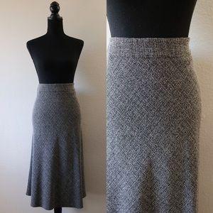 Beautiful Wool Like Midi Skirt!
